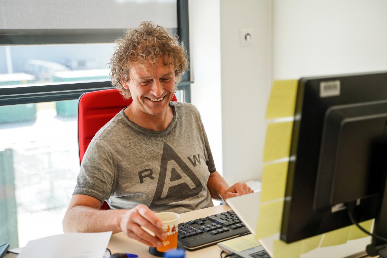 Jeffrey, onze locatiemanager in Deventer, is altijd vrolijk!